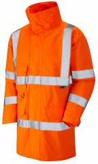 Leo Torridge Breathable Lightweight Anorak Hi-Vis Orange