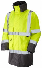 Leo Torridge Breathable Lightweight Anorak Hi-Vis Yellow