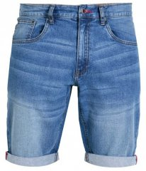 D555 Griffin Denim Shorts Stonewash