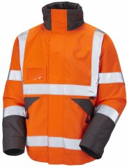 Leo Bickington Superior Bomber Jacket Orange