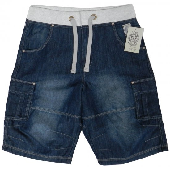 Kam Jeans James 2 Denim Shorts - Šorti - Šorti - W40-W60
