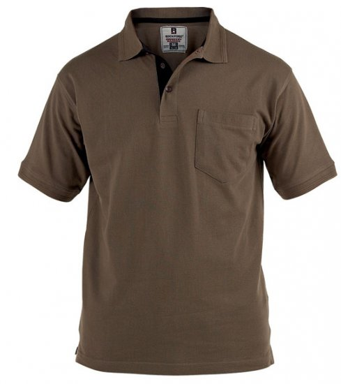 Rockford Polo Brown - Polo krekli - Polo krekli - 2XL-8XL