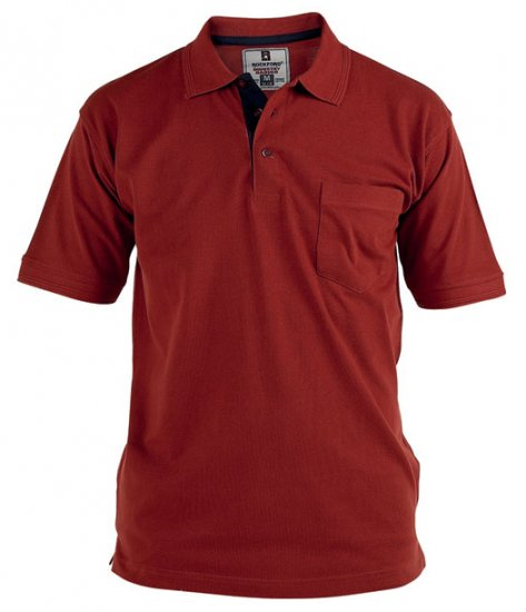 Rockford Polo Red - Polo krekli - Polo krekli - 2XL-8XL