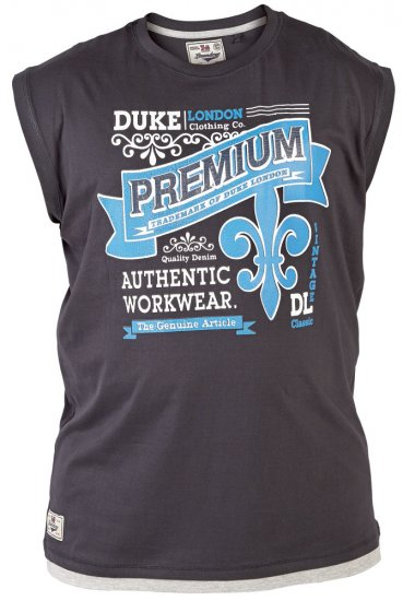 Duke Goa Tank Top Black - T-krekli - T-krekli - 2XL-8XL