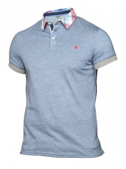 Mish Mash Ironwood Denim Blue - Polo krekli - Polo krekli - 2XL-8XL