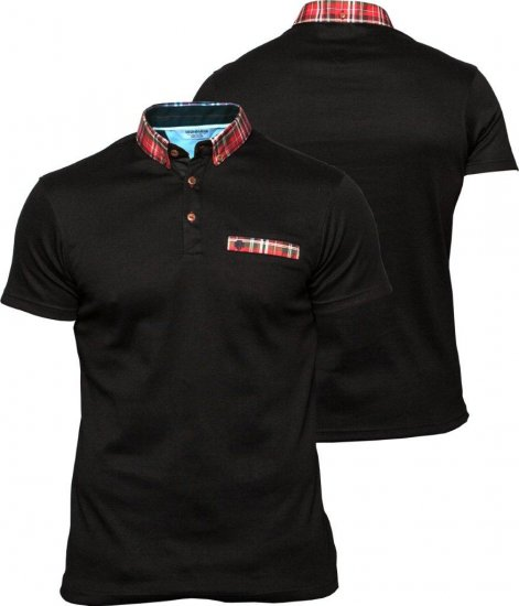 Mish Mash Black Scoot - Polo krekli - Polo krekli - 2XL-8XL