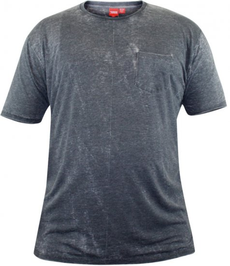 D555 Mavi T-shirt Grey with Pocket - T-krekli - T-krekli - 2XL-8XL