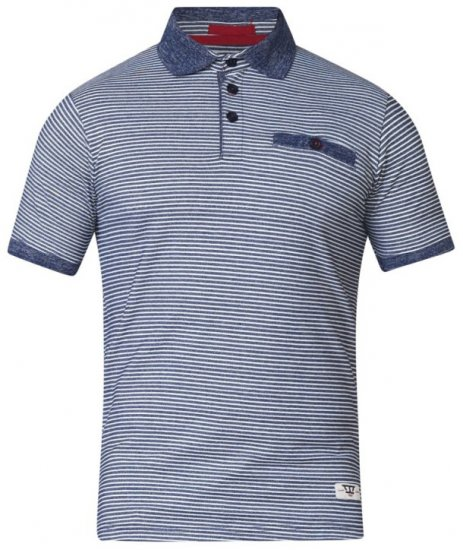 D555 Tyrone Polo Blue - Polo krekli - Polo krekli - 2XL-8XL