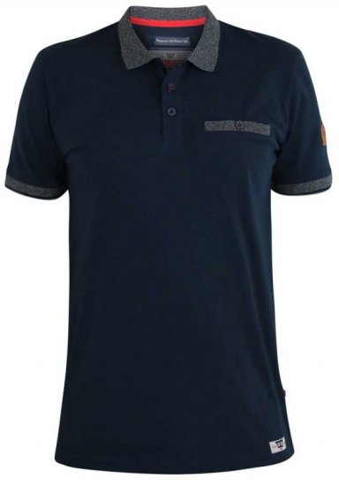 D555 Walker Polo Navy - Polo krekli - Polo krekli - 2XL-8XL