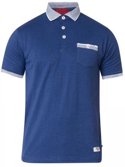 D555 George Polo Navy - Polo krekli - Polo krekli - 2XL-8XL