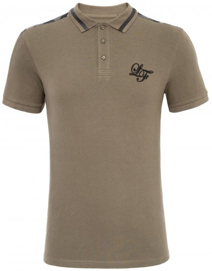 Loyalty & Faith Element Polo Khaki - Polo krekli - Polo krekli - 2XL-8XL
