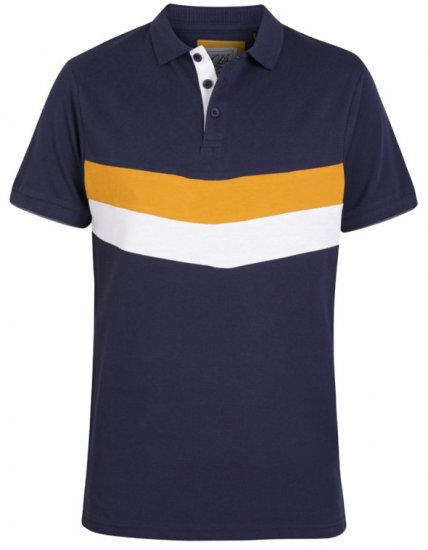 D555 Hopkins Polo Navy - Polo krekli - Polo krekli - 2XL-8XL
