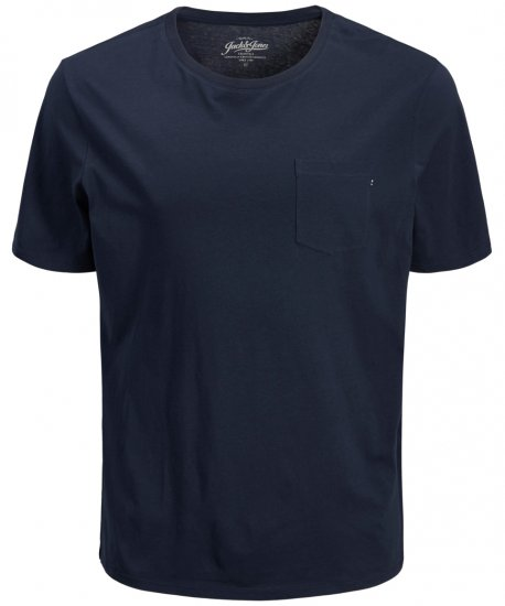 Jack & Jones JJEPOCKET Tee Navy - T-krekli - T-krekli - 2XL-8XL